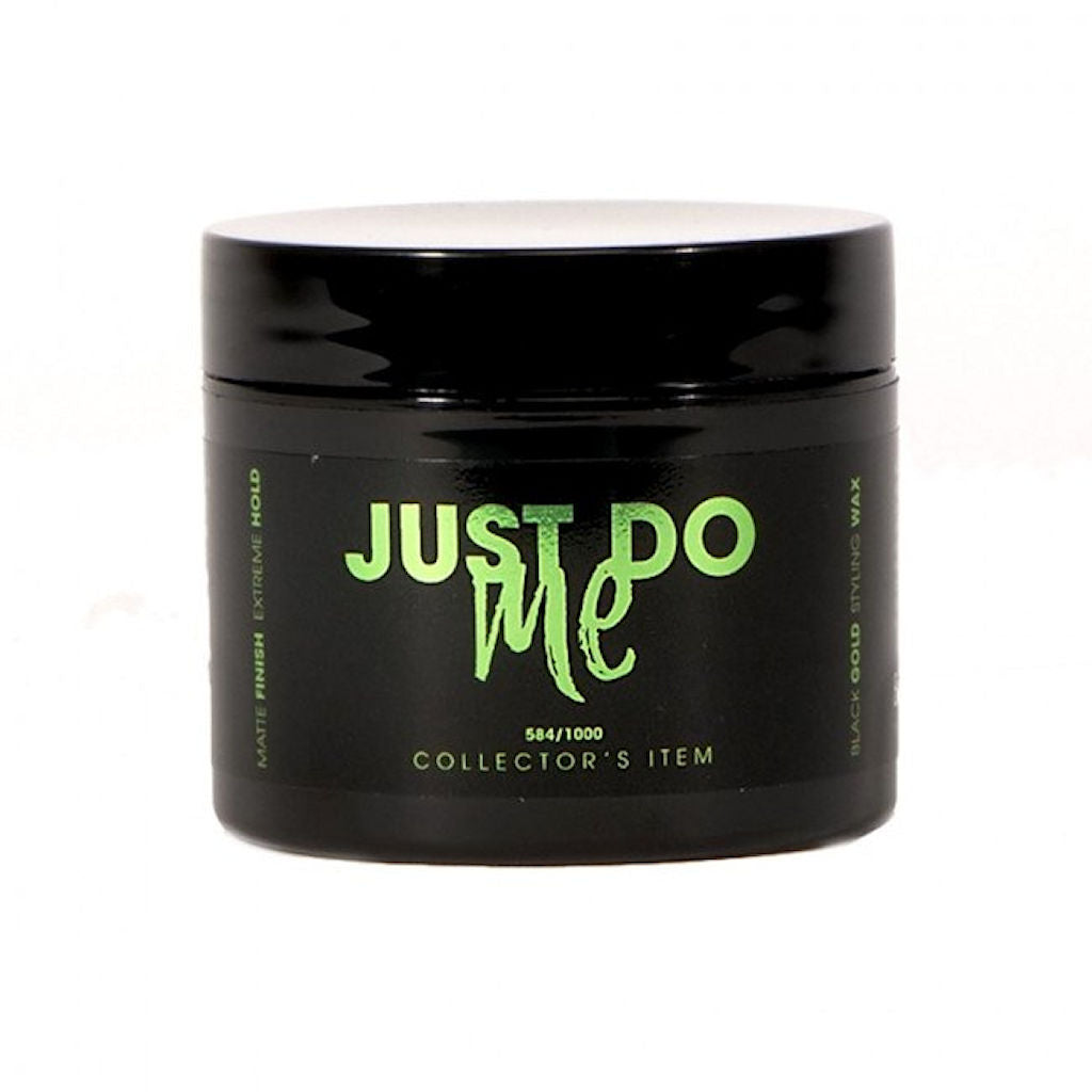 By Vilain Black Gold Just Do Me Hair Styling Wax Front