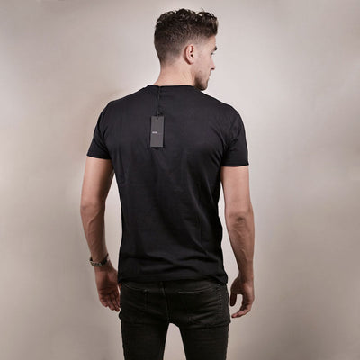 By Vilain Black Logo T-Shirt Men's Apparel Back