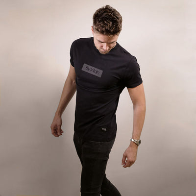 By Vilain Black Logo T-Shirt Men's Apparel Front