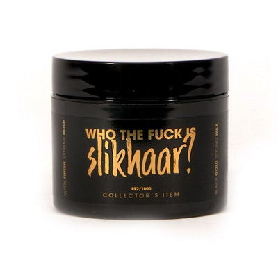 By Vilain Black Gold Who The F*ck is Slikhaar? Hair Styling Wax Front