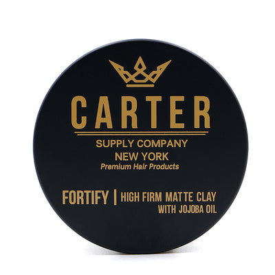 Carter Supply Company Fortify Hair Styling Clay Front