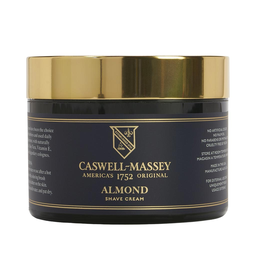 Almond Shave Cream in Jar