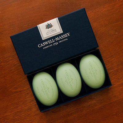 Caswell-Massey Centuries Cucumber Three Soap Set
