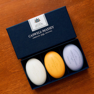 Caswell-Massey Centuries Signature Three Soap Set