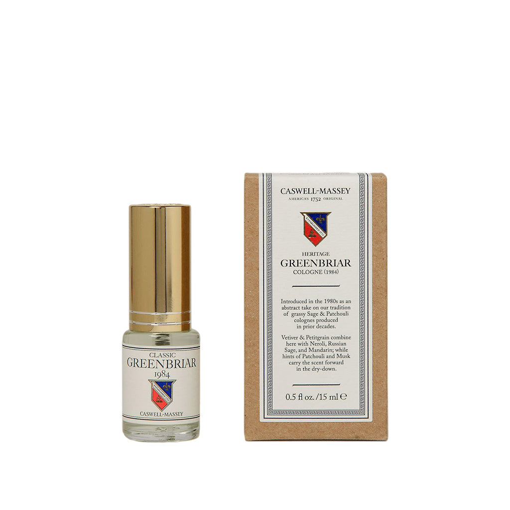 Caswell-Massey Classic Greenbriar Cologne 15ml