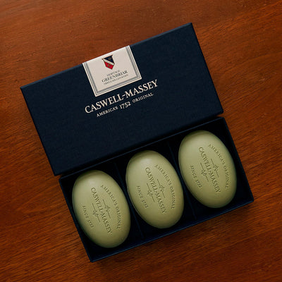 Caswell-Massey Heritage Greenbriar Three Soap Set