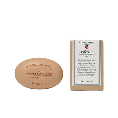 Caswell-Massey Heritage Tricorn Bar Soap