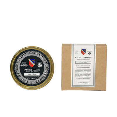 Caswell-Massey Regents Premium Shaving Soap In Tin