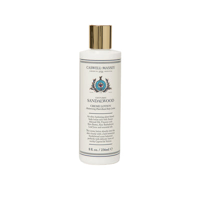 Caswell-Massey Centuries Sandalwood Creme Lotion