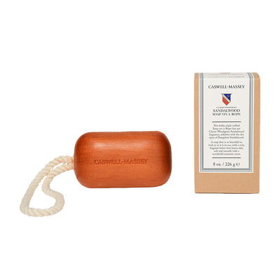 Caswell-Massey Classic Woodgrain Sandalwood Soap on A Rope