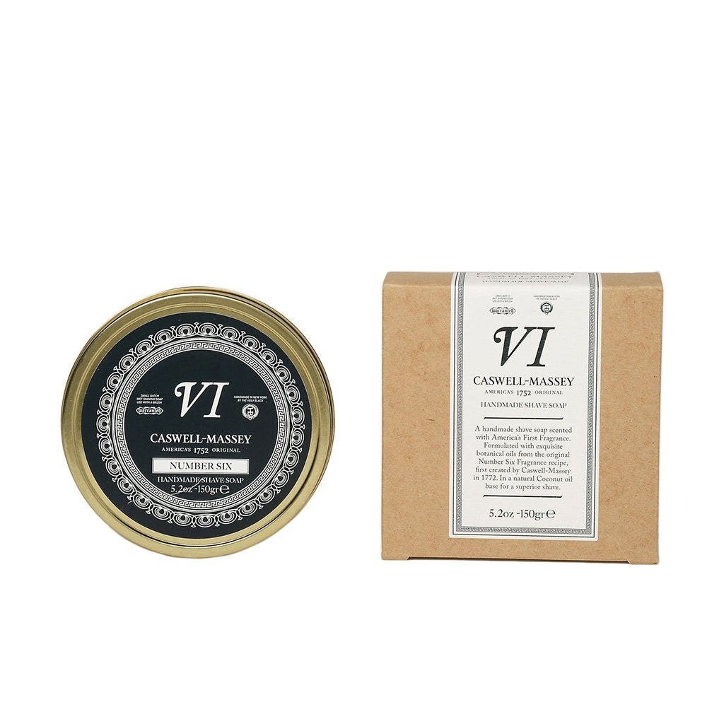 Caswell-Massey Number Six Supernatural Premium Shaving Soap In Tin