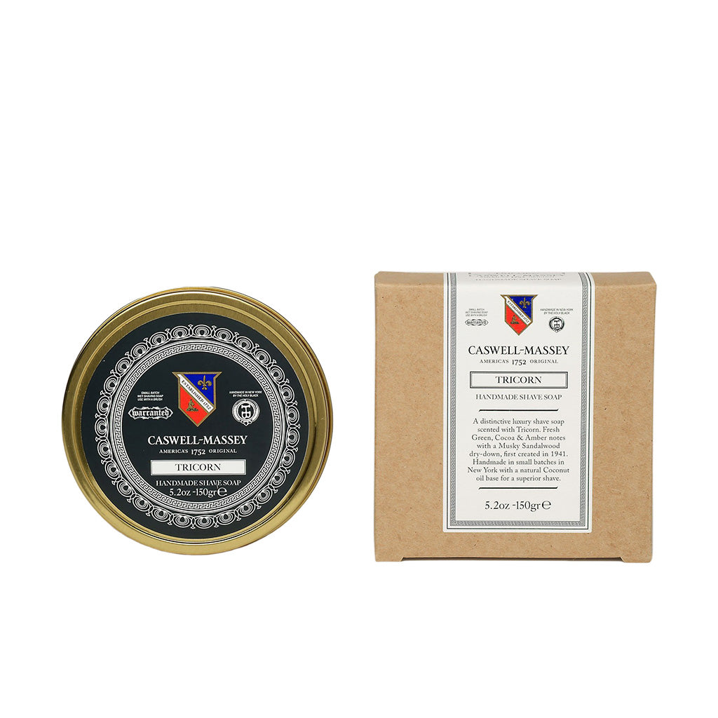 Caswell-Massey Tricorn Premium Shaving Soap In Tin