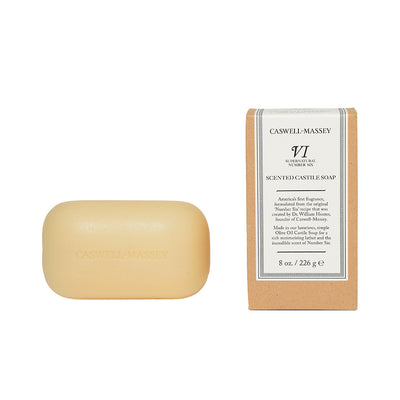 Number Six Oversized Castile Bar Soap