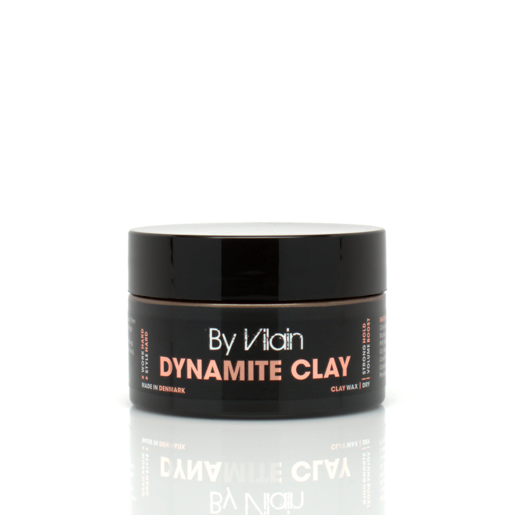 By Vilain Dynamite Clay Travel Size Hair Styling Clay Front