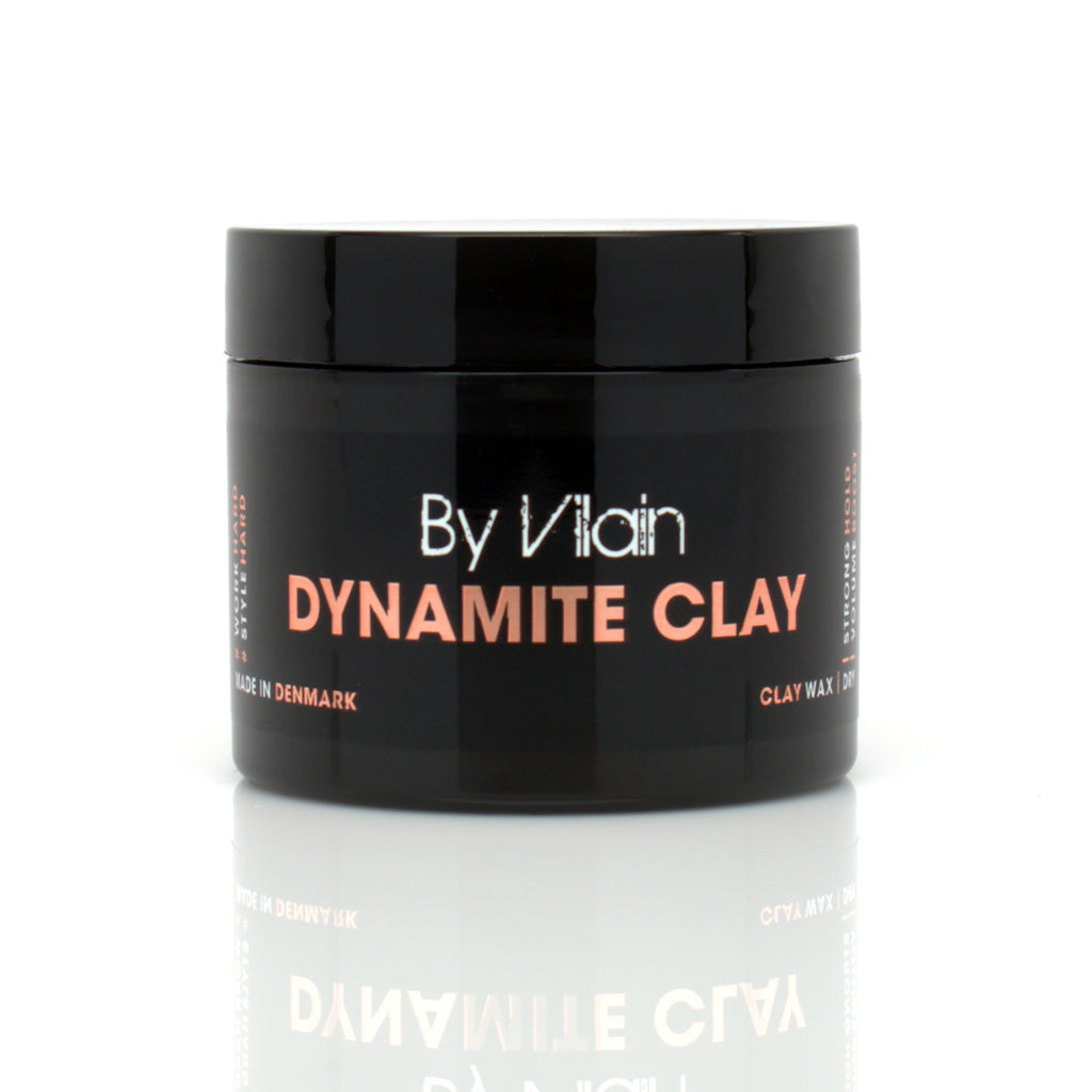 By Vilain Dynamite Clay Hair Styling Clay Front