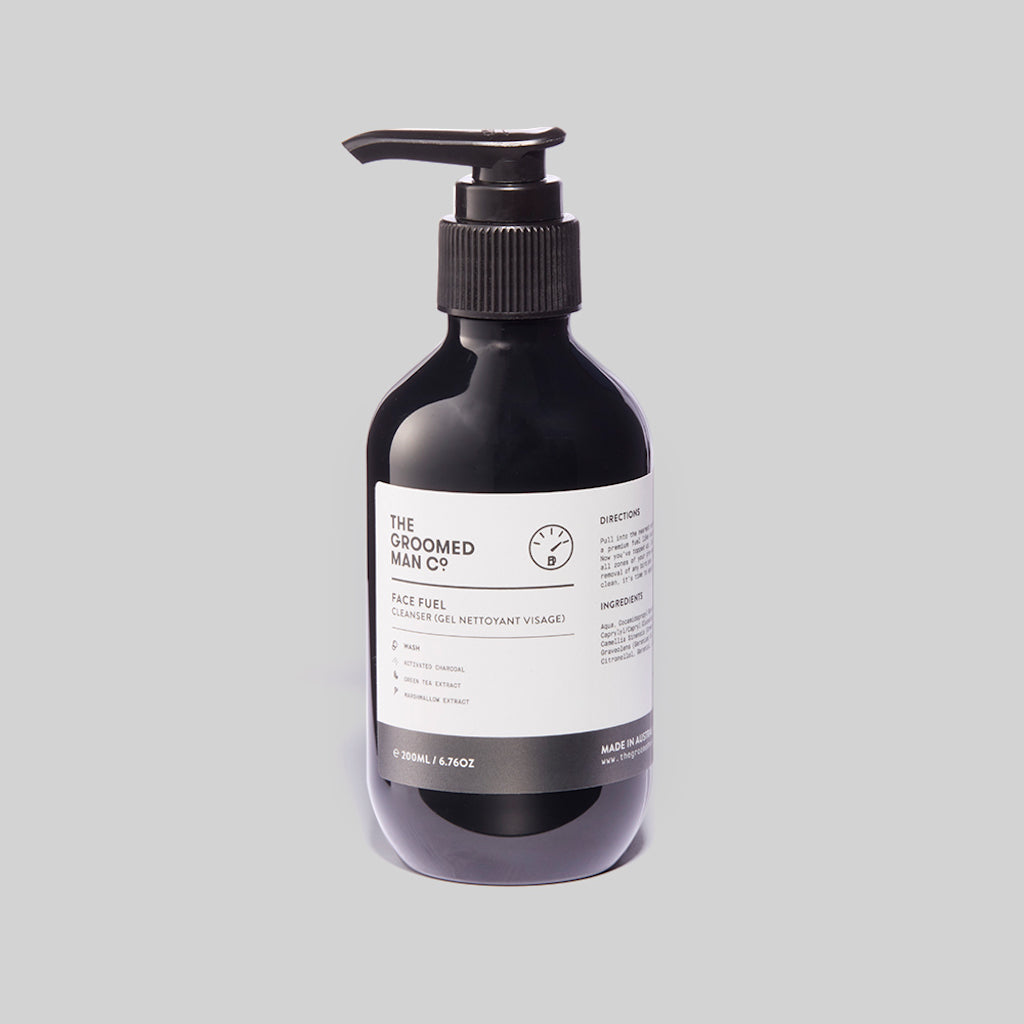 The Groomed Man Co. Face Fuel Premium Cleanser Front