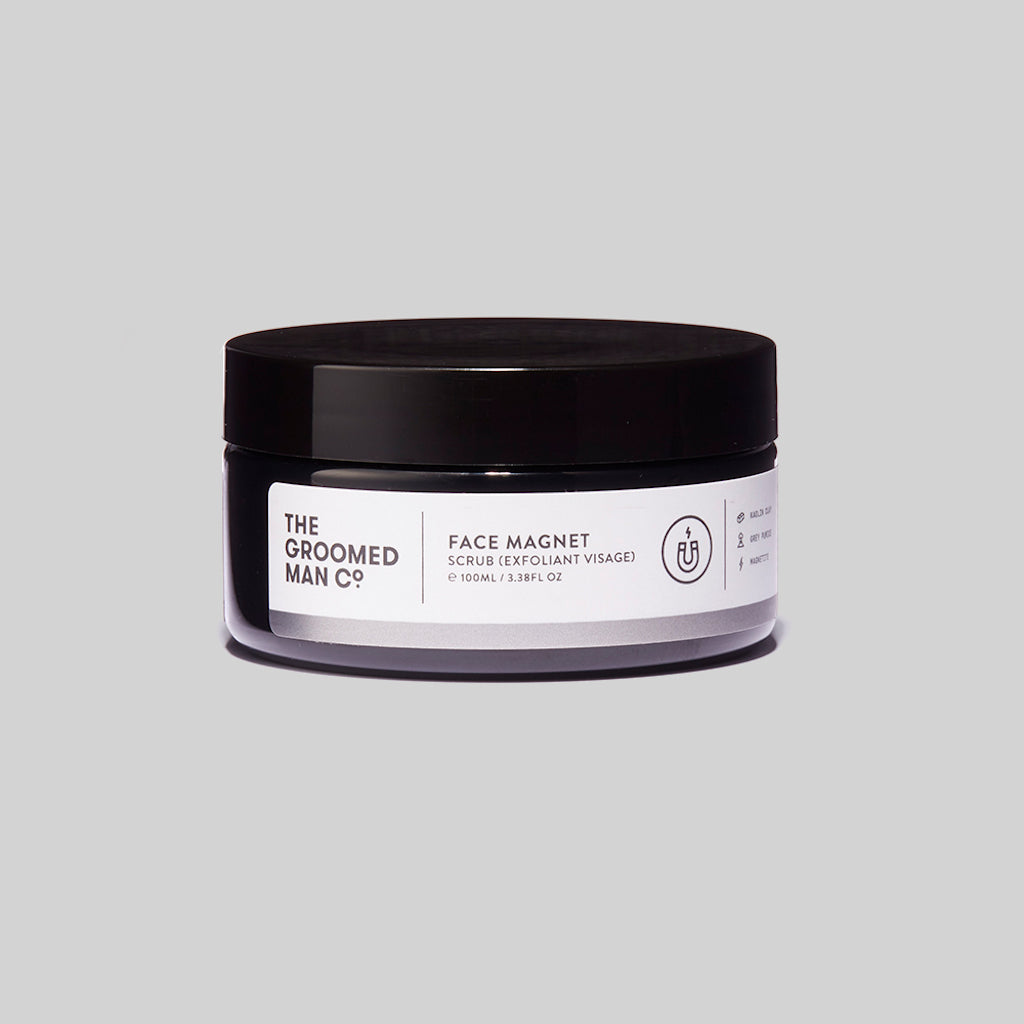 The Groomed Man Co. Face Magnet Premium Face Scrub Front