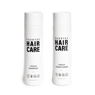 Fuertes Cleanse Shampoo and Conditioner Set Men's Hair Care