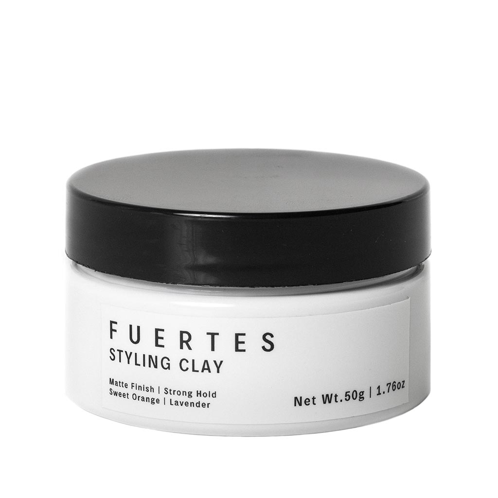 Fuertes Styling Clay Travel Size Organic Hair Styling Product