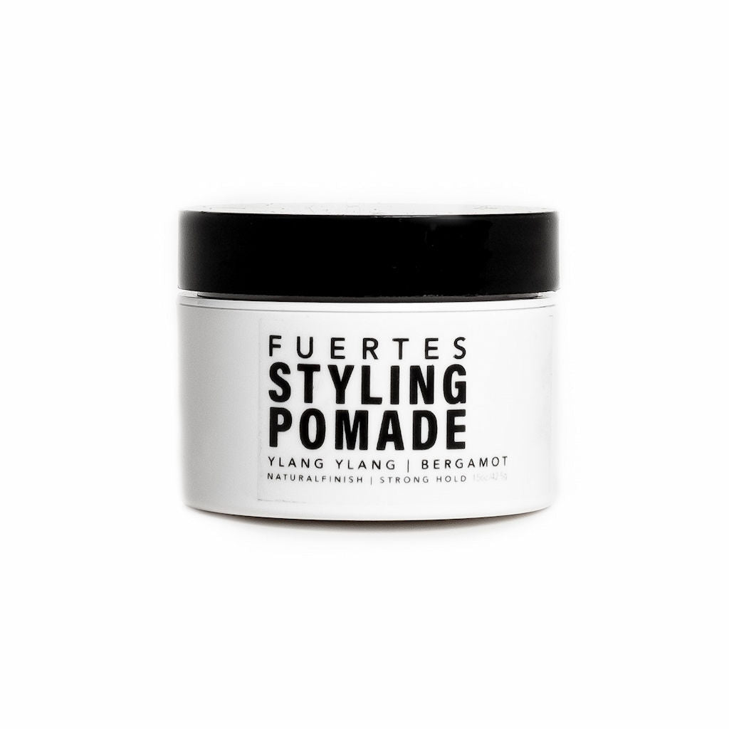 Fuertes Styling Pomade Travel Size Organic Hair Styling Product