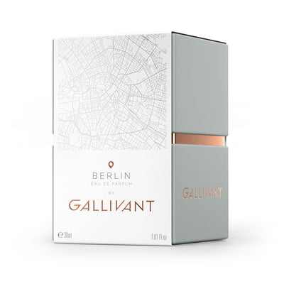 Gallivant Berlin Eau De Parfum 30ml Box