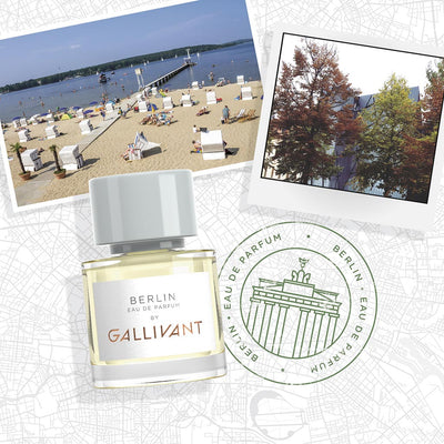 Gallivant Berlin Eau De Parfum 30ml Postcard