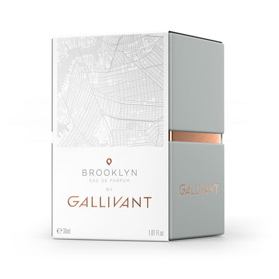 Gallivant Brooklyn Eau De Parfum 30ml Box