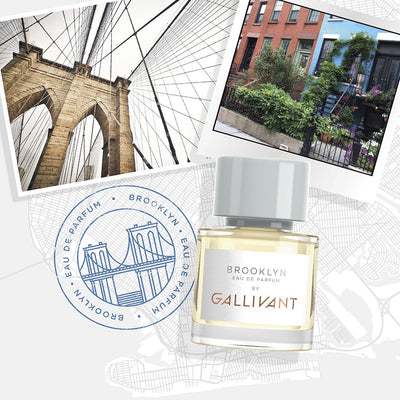 Gallivant Brooklyn Eau De Parfum 30ml Postcard