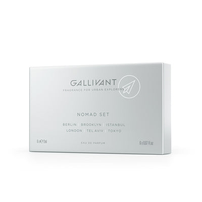 Gallivant Nomad Set Eau De Parfum 6 x 2ml Box
