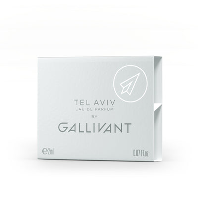 Gallivant Tel Aviv Eau De Parfum 2ml Box