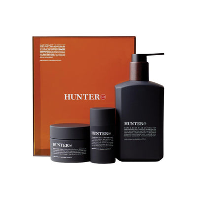 Hunter Lab Daily Ritual Kit Natural Skincare