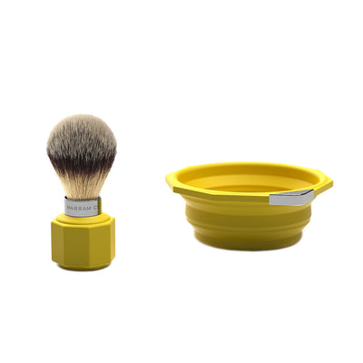 Marram Co Pop Shaving Travel Set Yellow