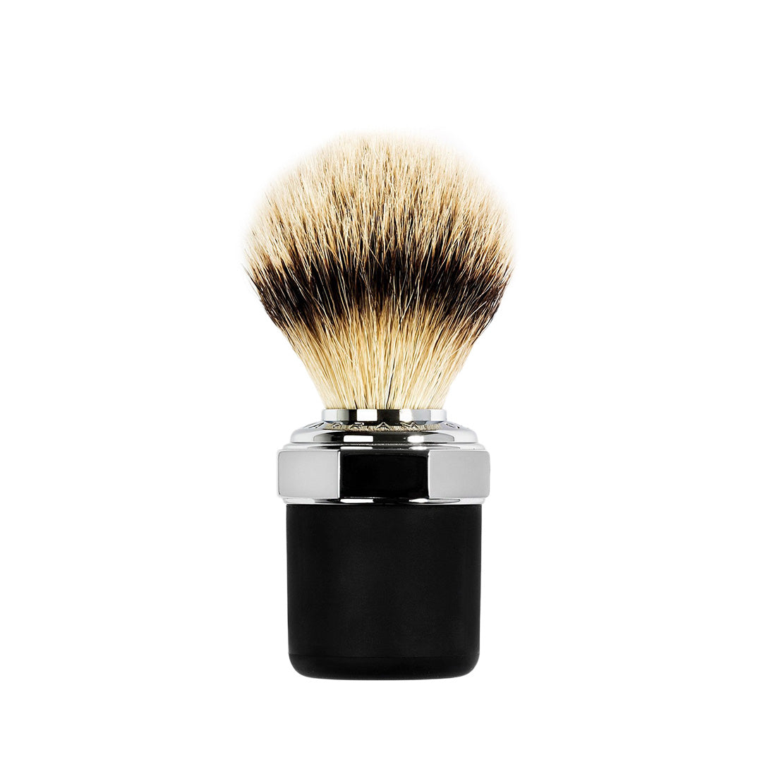 Shaving Brush - Chrome