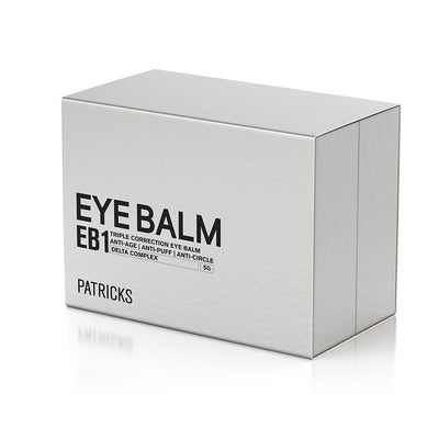 Patricks EB1 Triple Correction Anti-Aging Eye Balm Box