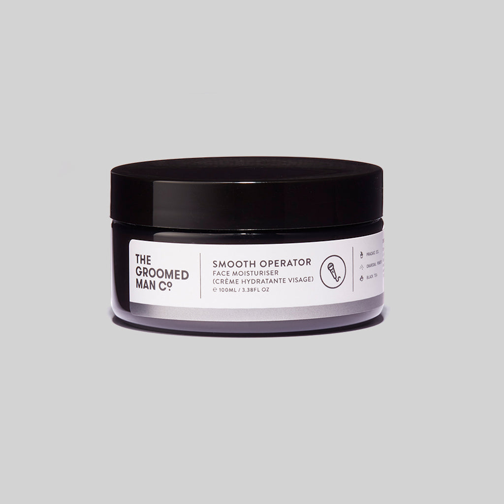 The Groomed Man Co. Smooth Operator Premium Face Moisturiser Front