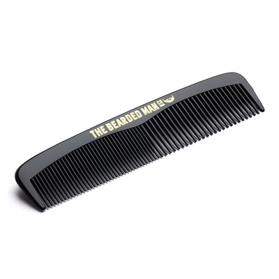 The Bearded Man Company 001 Gents Beard Pocket Comb Angle
