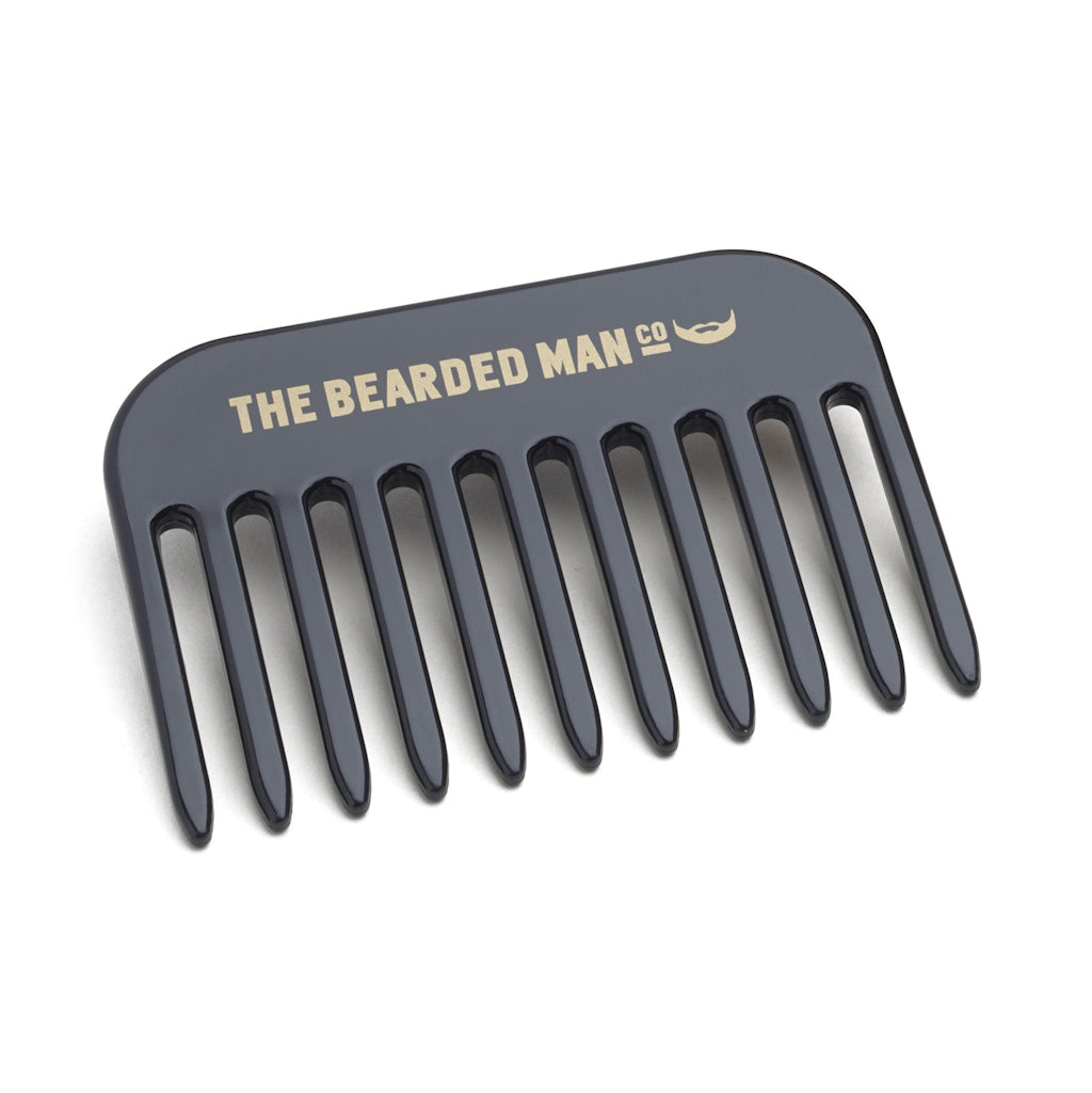 The Bearded Man Company 003 Gents Beard Pick Comb Front