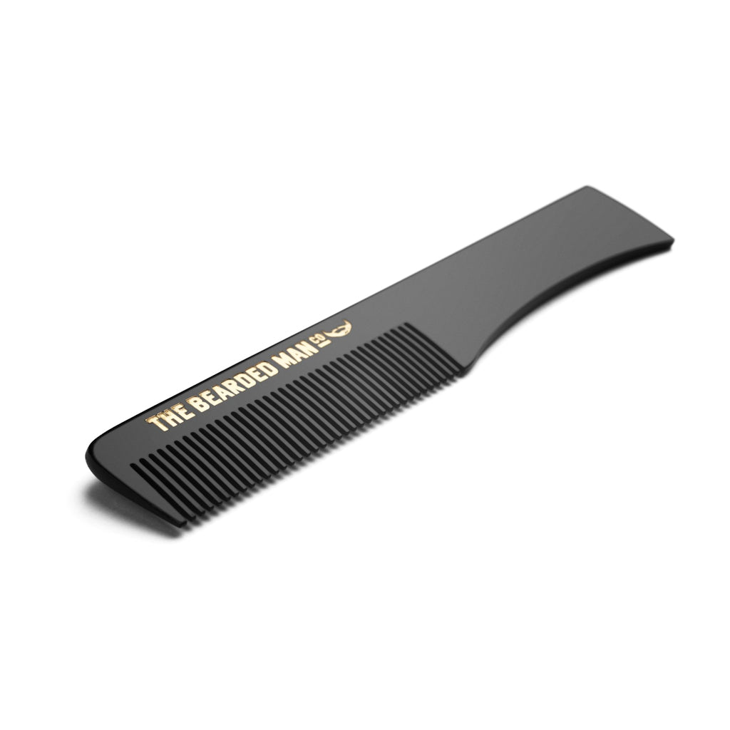 The Bearded Man Company 004 Gents Moustache Comb Angle
