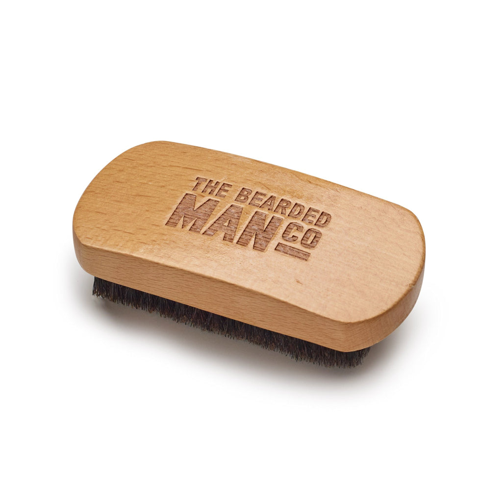The Bearded Man Company 005 Gents Beard Brush Top