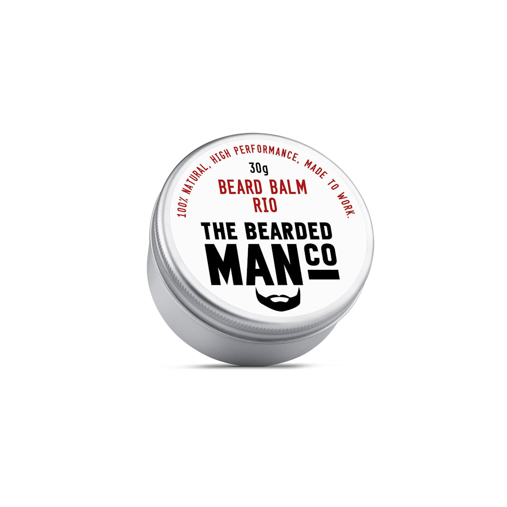 The Bearded Man Company Rio 30g All Natural Beard Balm Front