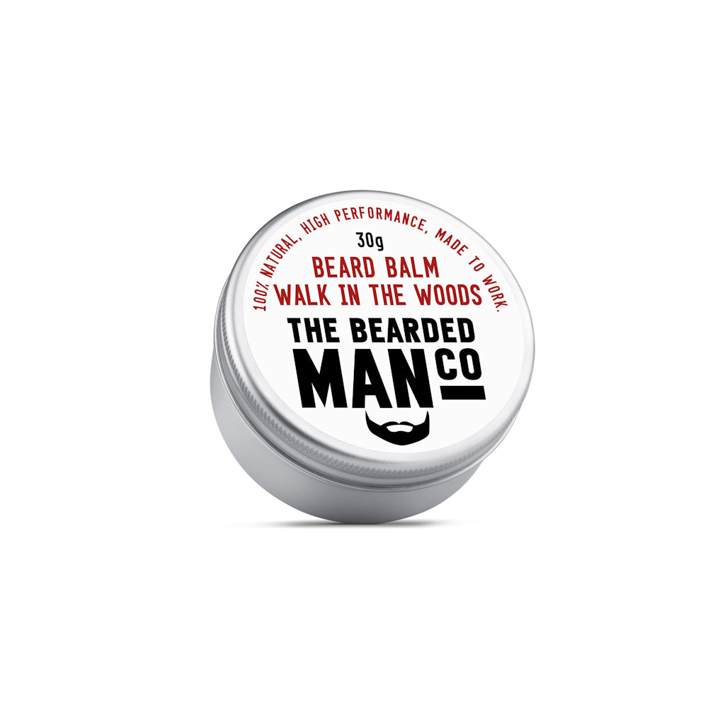 The Bearded Man Company Walk In The Woods 30g All Natural Beard Balm Front