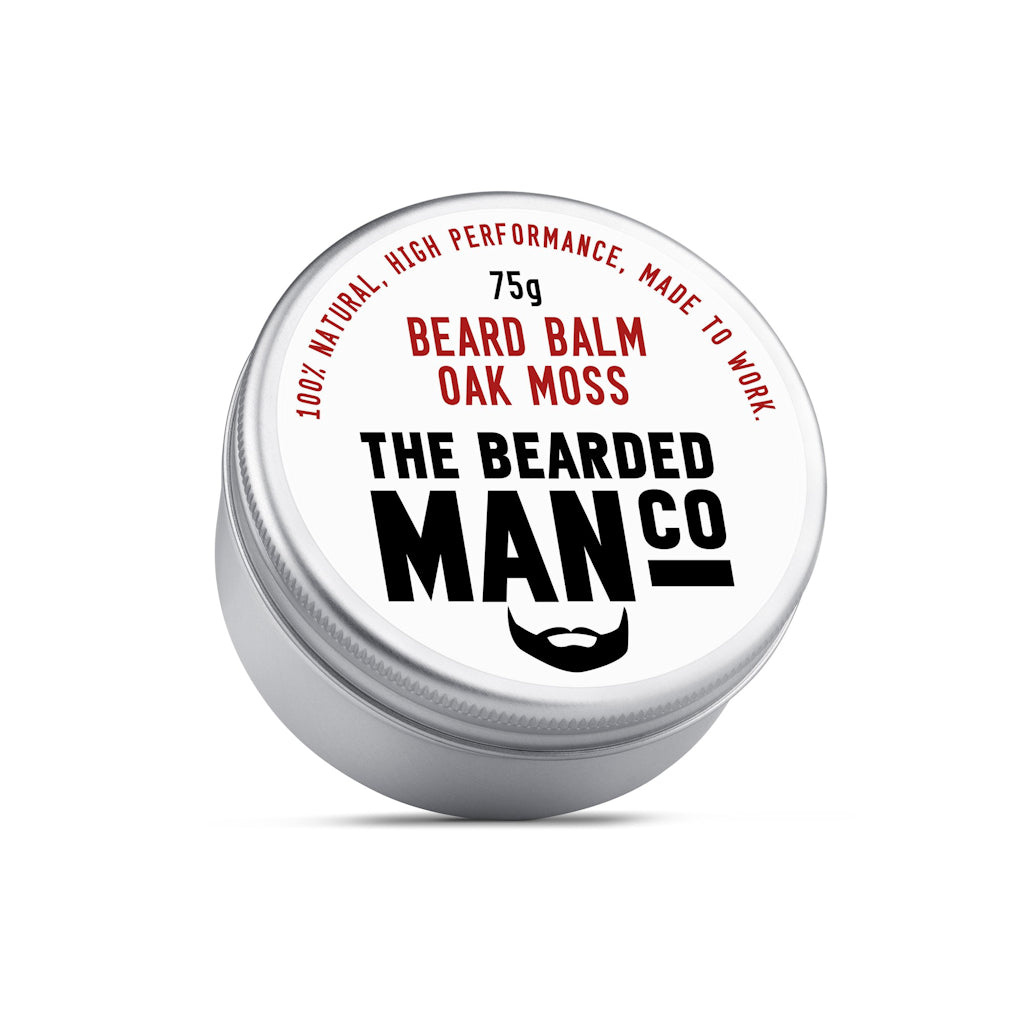 The Bearded Man Company Oakmoss 75g All Natural Beard Balm Front