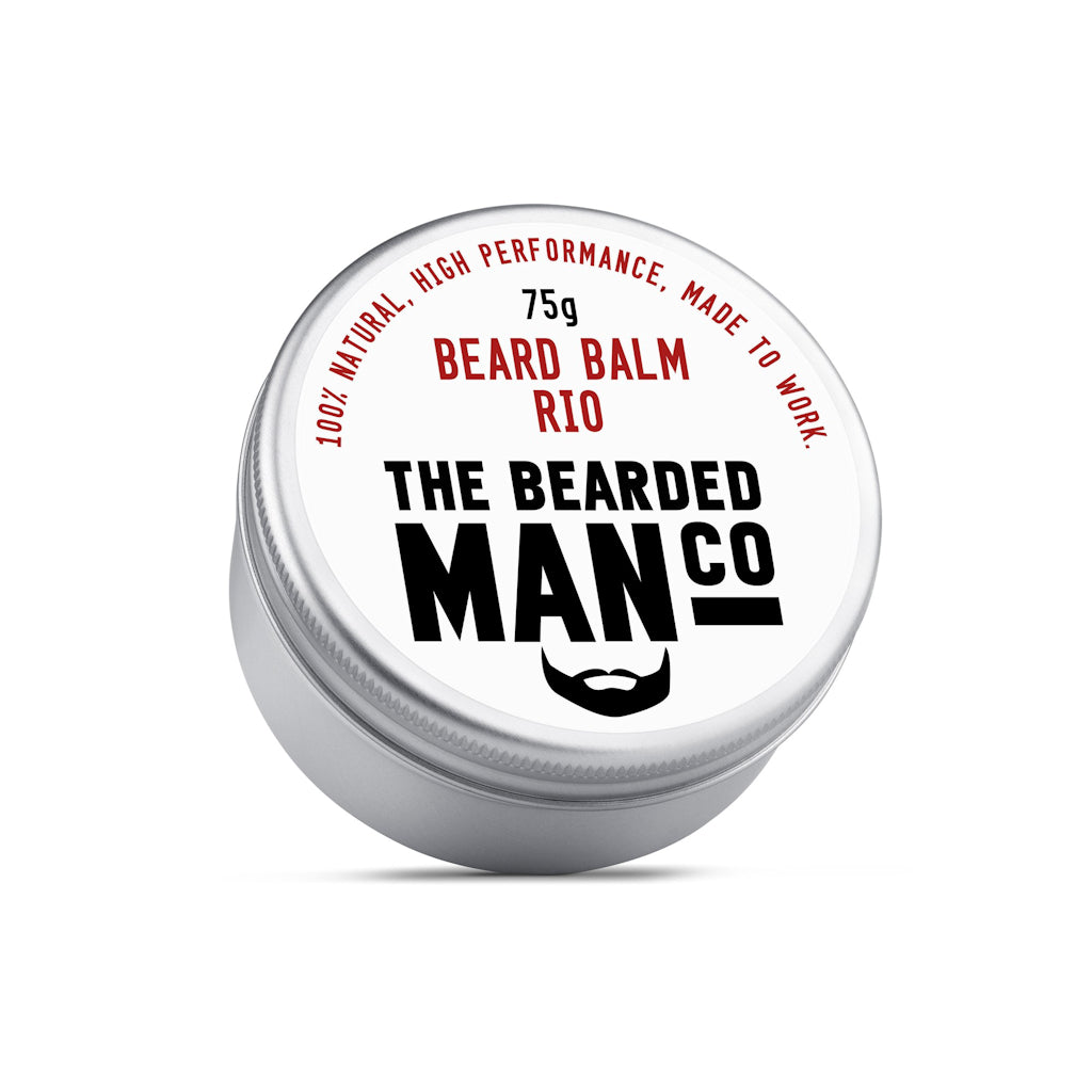 The Bearded Man Company Rio 75g All Natural Beard Balm Front
