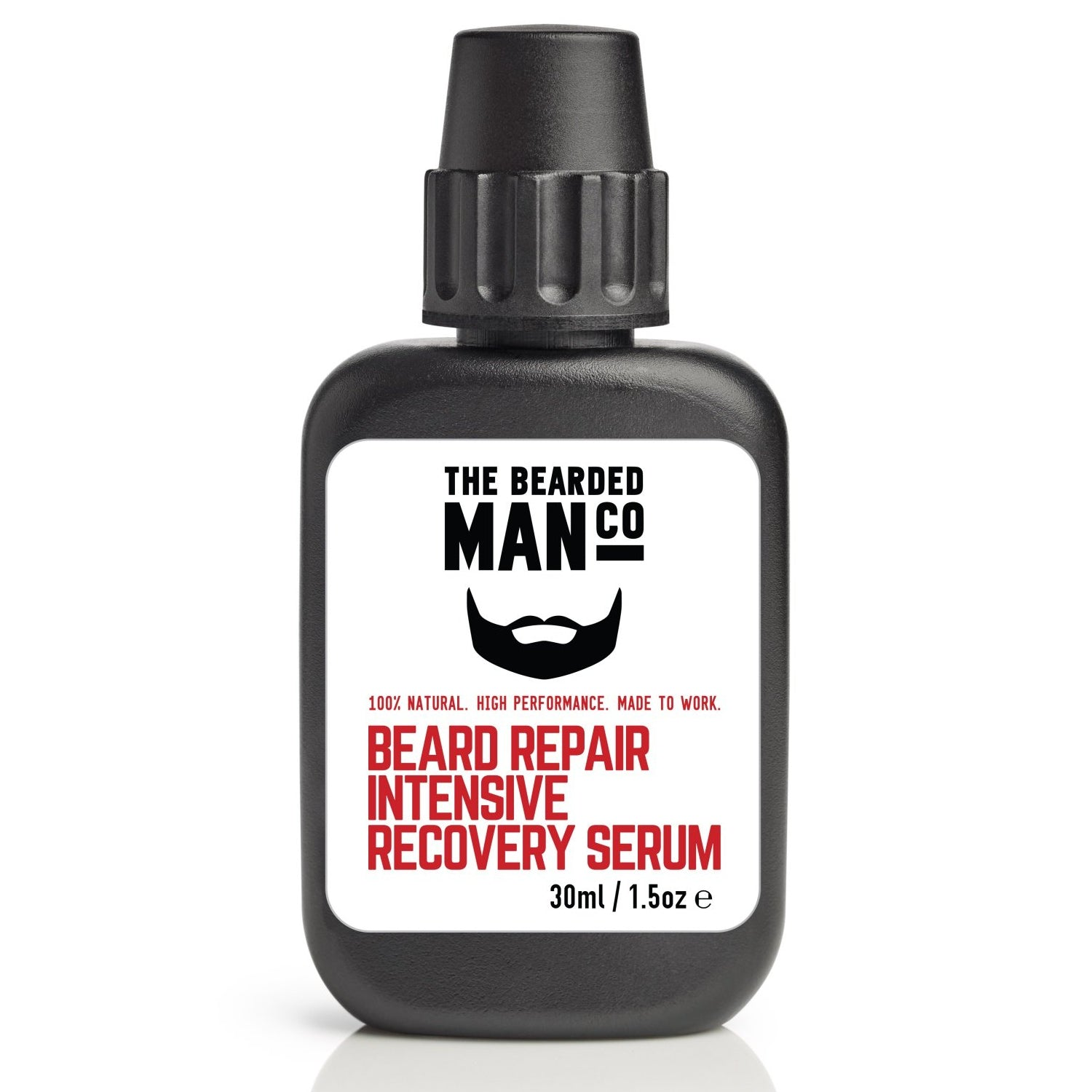The Bearded Man Company Beard Repair Intensive Recovery Serum Front