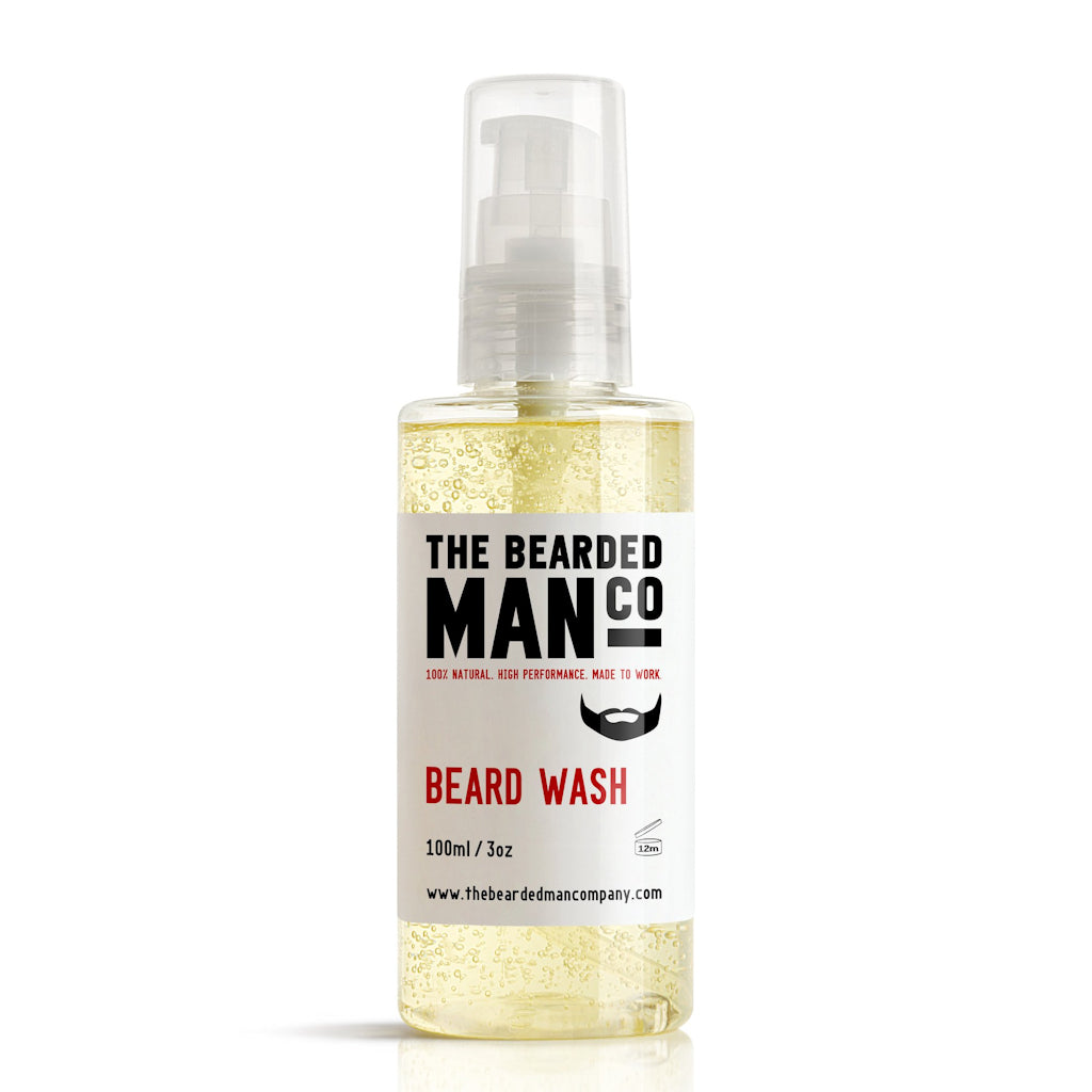 The Bearded Man Company 100ml Beard Wash Front
