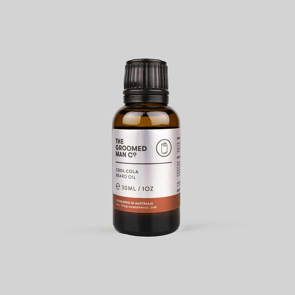 The Groomed Man Co. Cool Cola Beard Oil