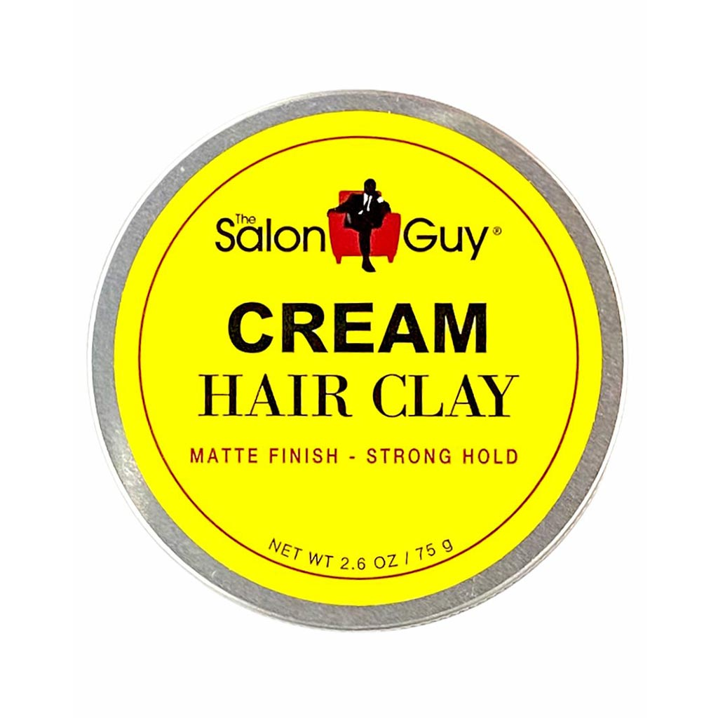 TheSalonGuy Cream Hair Clay Matte Finish  Strong Hold