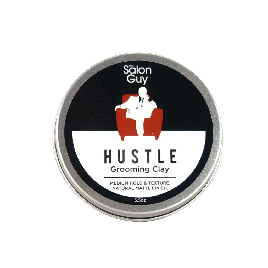 TheSalonGuy Hustle Matte Medium Hold Hair Styling Clay