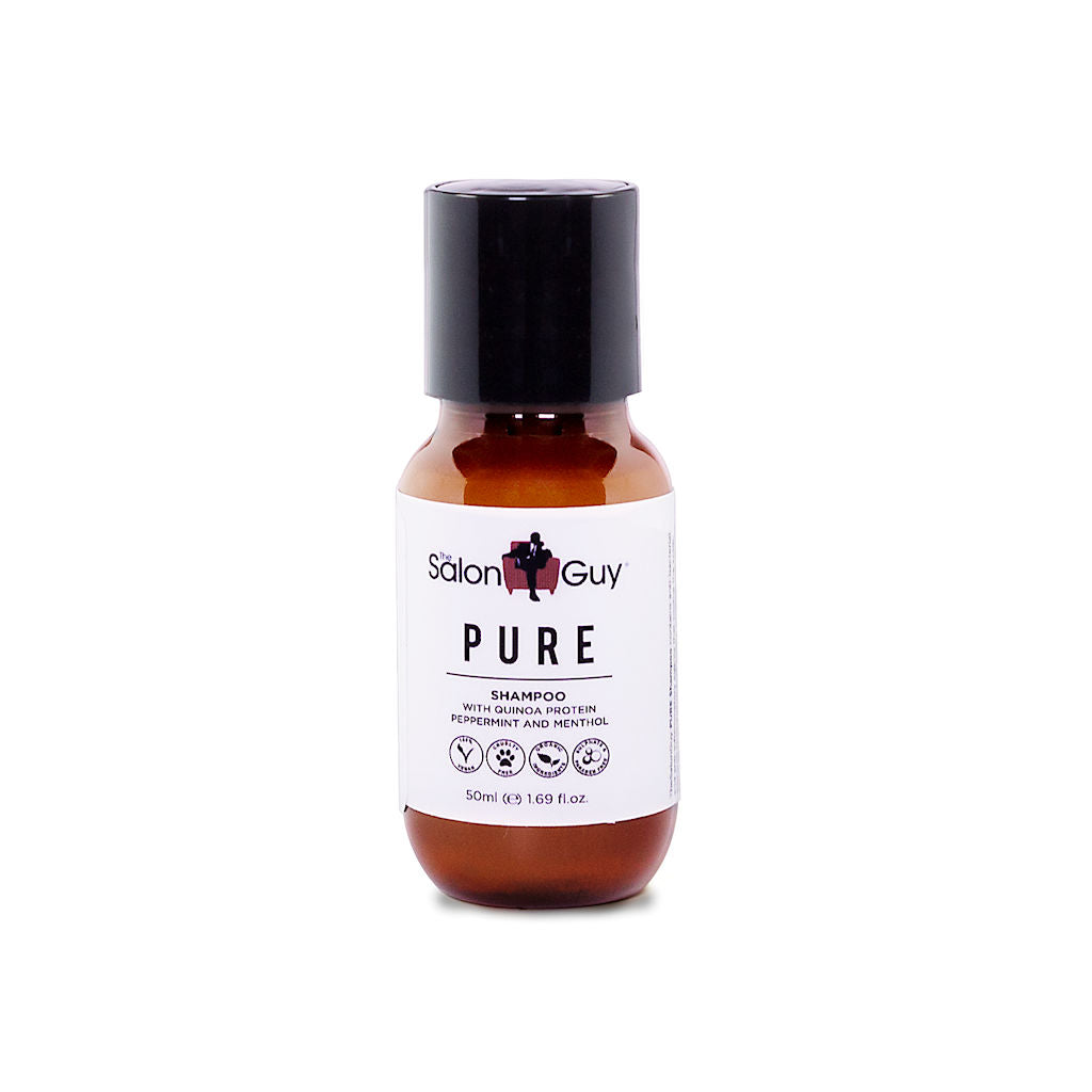 TheSalonGuy Pure Quinoa Protein Shampoo Travel Size Hair Care Front