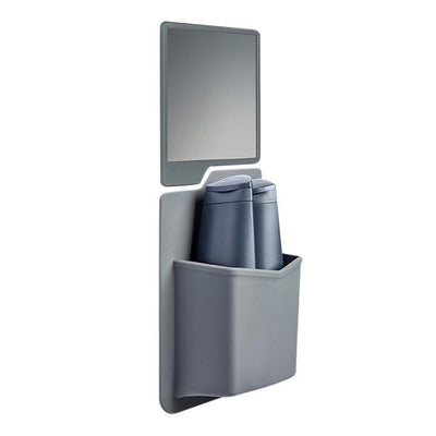 Tooletries The Frank & Oliver Set - Shower Caddy & Mirror - Gray